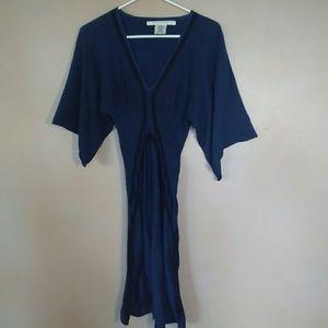 Max Studio Small Blue, Black Knit Dress
